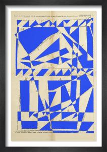 Lost Gardens No.11 (bright blue) by Hormazd Narielwalla