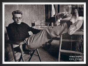 James Dean by Phil Stern