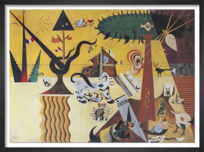 The Tilled Field, 1923-24 by Joan Miro