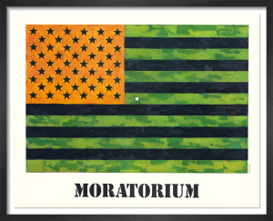 Moratorium, 1969 by Jasper Johns