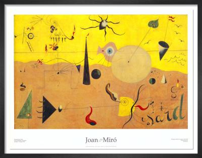 Paisatge Catala (El Cacador) by Joan Miro