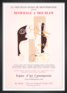Hommage a Mourlot, 1990 by Georges Braque