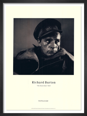 Richard Burton - The Desert Rats by Bob Willoughby
