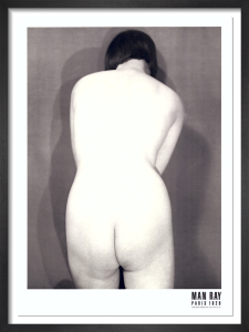 Nude, Paris 1928 by Man Ray