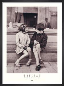 Paulette et Andre, 1949 by Brassai