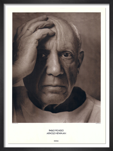 Pablo Picasso, 1954 by Arnold Newman
