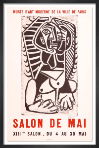 Salon de Mai, 1957 by Pablo Picasso