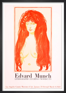 Lithographs-Etchings-Woodcuts, 1969 by Edvard Munch