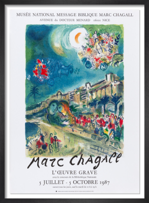 La Baie De Anges, 1987 by Marc Chagall