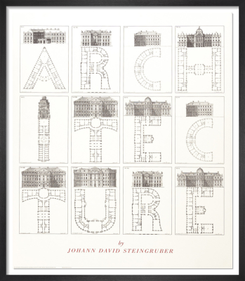Architecture by Johann David Steingruber