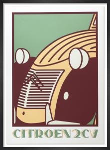 Citroen 2CV by Neil Gower