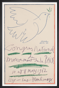 Congrès National du Mouvement de la Paix, 1962 by Pablo Picasso