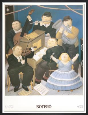 I Musicisti, 1991 by Fernando Botero