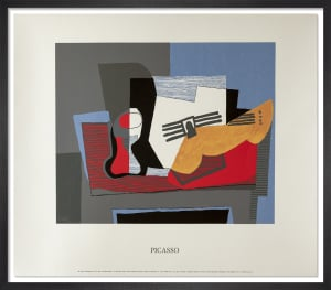 Nature Morte a la Guitare, 1922 by Pablo Picasso