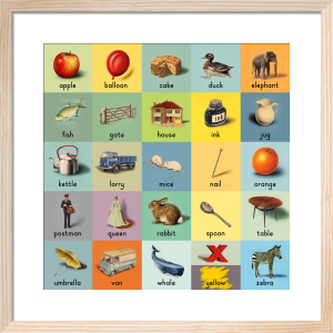 alphabet (words) by Ladybird Books'