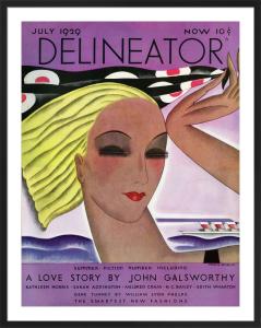 Delineator, July 1929 by Helen Dryden