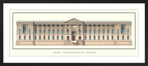 Paris - Colonnade du Louvre by Anonymous
