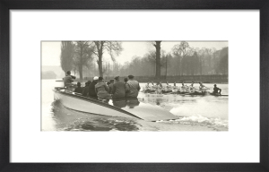 Oxford and Cambridge Boat Race by Anonymous