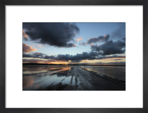 Time and Tide Sunset by Paul Stevenson