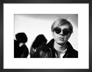 Andy Warhol, 1966 (2) by Nat Finkelstein