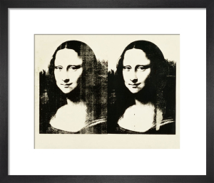 Double Mona Lisa, 1963 by Andy Warhol