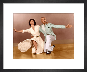 Cyd Charisse and Fred Astaire (The Band Wagon) 1953 by Hollywood Photo Archive