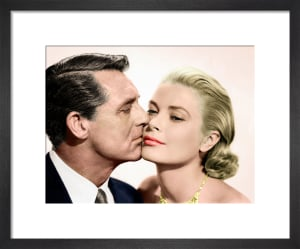 Cary Grant and Grace Kelly (To Catch a Thief) 1955 by Hollywood Photo Archive