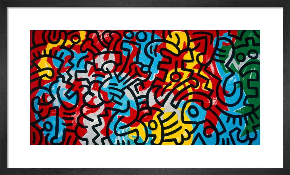 Untitled, 1985 (abstract) by Keith Haring