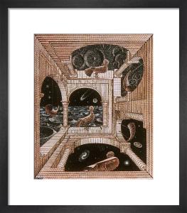 Other World by M.C. Escher