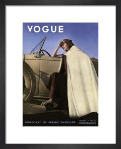 Vogue January 1935 by George Hoyningen-Huene