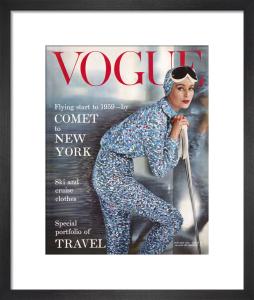 Vogue January 1959 by Eugene Vernier