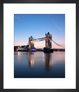 Tower Bridge at Dawn, London by Doug Chinnery
