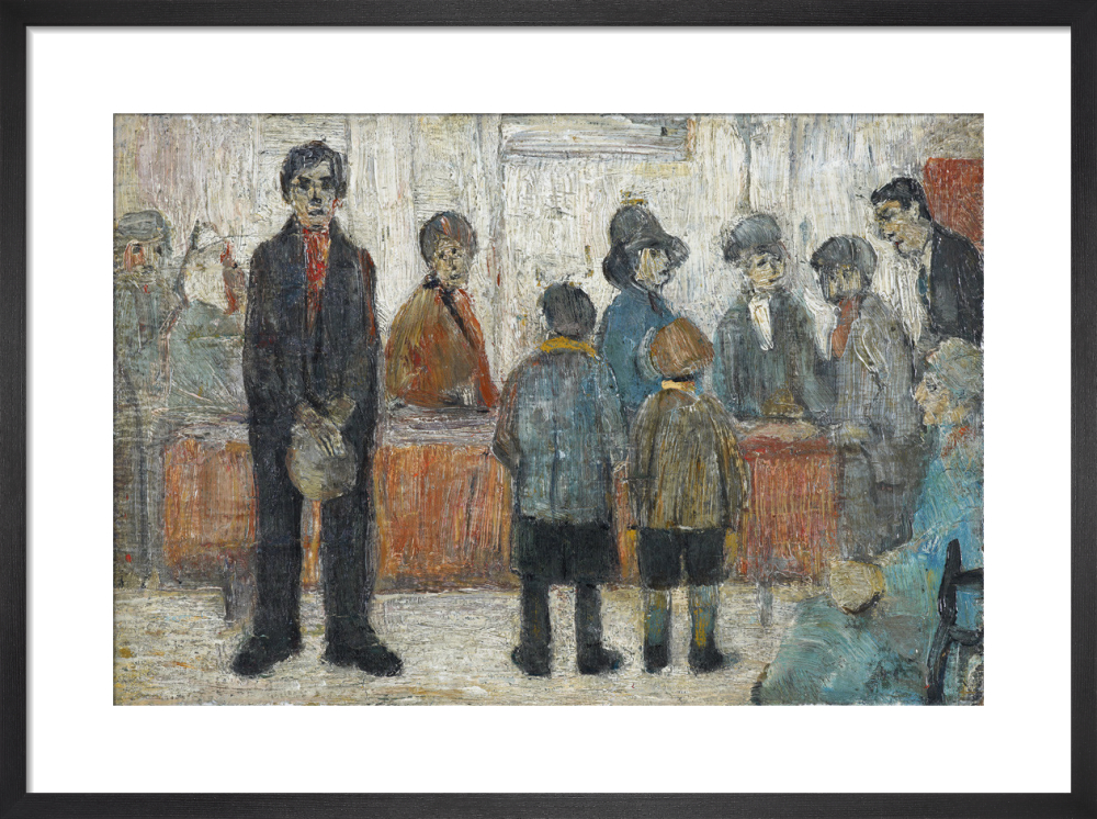A Doctor's Waiting Room, 1920 by L.S. Lowry