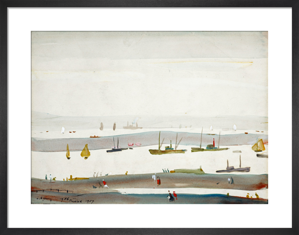 The Estuary, 1956-59 by L.S. Lowry