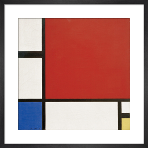 Composition in Red, Blue and Yellow, 1930 by Piet Mondrian