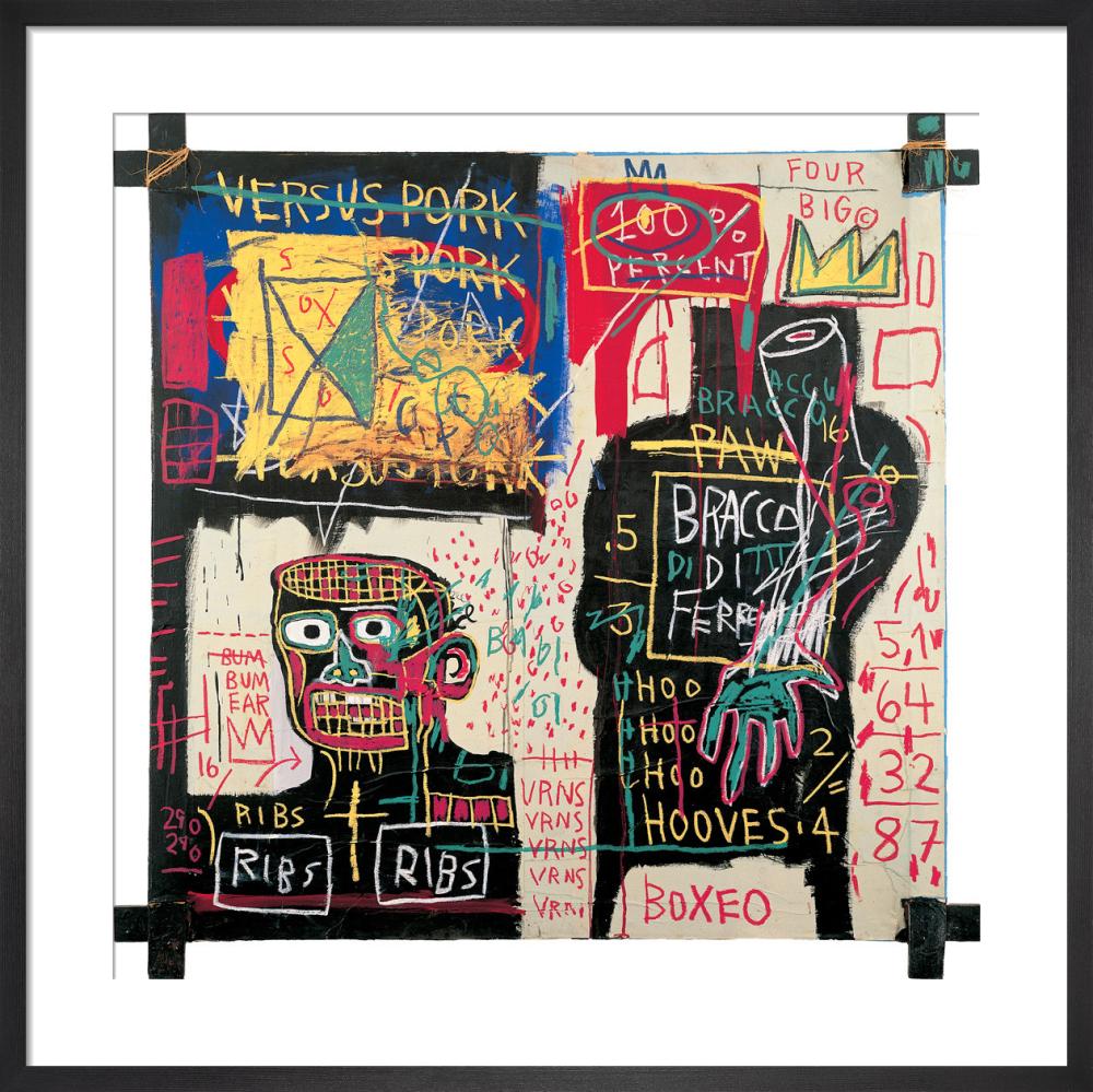 The Italian version of Popeye has no Pork in his Diet, 1982 by Jean-Michel Basquiat