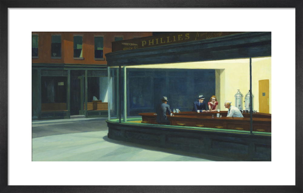 Nighthawks 1942 Art Print By Edward Hopper King Mcgaw