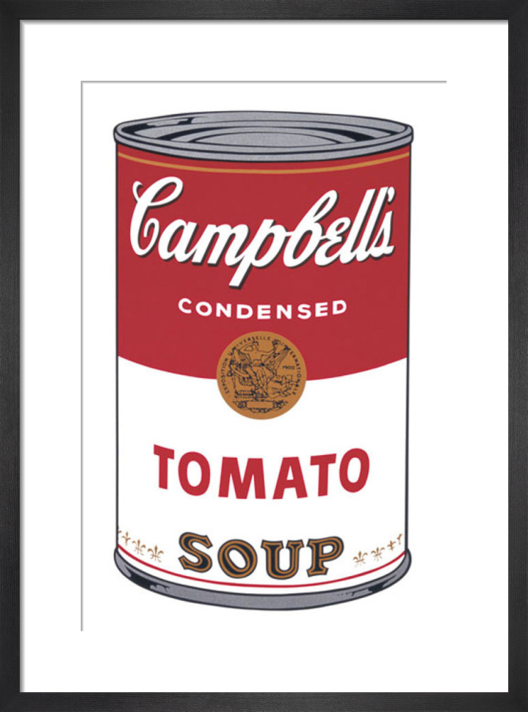 Campbell S Soup I Tomato 1968 Art Print By Andy Warhol King Mcgaw