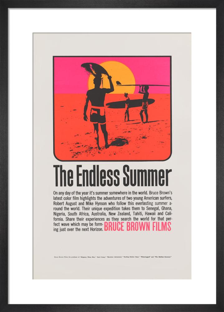 The Endless Summer Art Print By Cinema Greats King Mcgaw