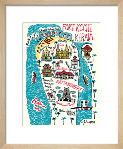 Fort Kochi and Kerala by Julia Gash