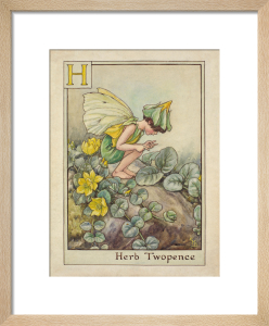 Herb Twopence Fairy by Cicely Mary Barker