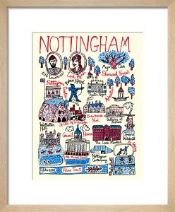 Nottingham by Julia Gash
