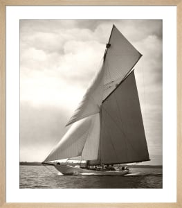 Yacht Racing I by Anonymous