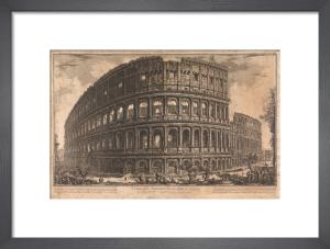 The Coliseum, Rome by Giovanni Battista Piranesi