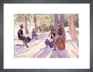 Les Tresses, Senegal by Lucy Willis