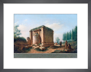 View of an Ancient Temple at Agrigentum by Luigi Mayer