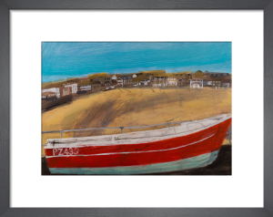 Red Boat by Emma Jeffryes