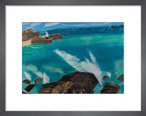 Waves Crashing by Emma Jeffryes