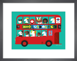 London Bus by Sean Sims