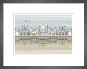 Brighton Royal Pavilion by Linescapes
